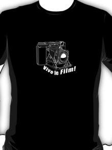 Ikonta - Vive le Film! - White Line Art T-Shirt