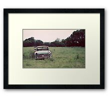Journey's End... Framed Print