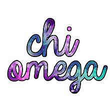 Chi Omega Galaxy Photographic Print