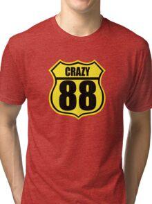 Crazy 88 Tri-blend T-Shirt