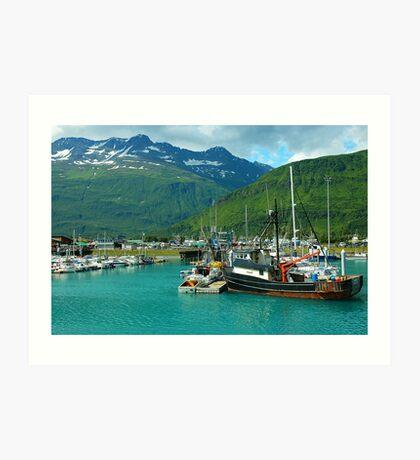 Valdez Alaska Art Print