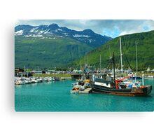 Valdez Alaska Canvas Print