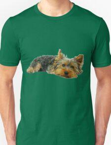 Cute Yorkshire terrier Unisex T-Shirt