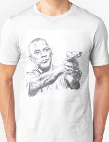 Denzel Washington Equalizes with a Hi. Unisex T-Shirt