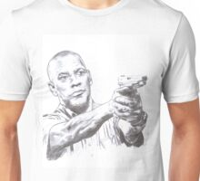 Denzel Washington Equalizes with a Hi. Unisex T-Shirt
