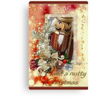 Have a nutty Christmas Canvas Print