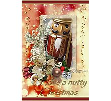 Have a nutty Christmas Photographic Print