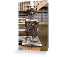 Lion's Den Greeting Card