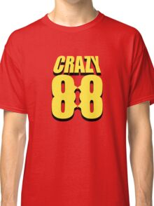Crazy 88 Masks & Shadow (yellow) Classic T-Shirt