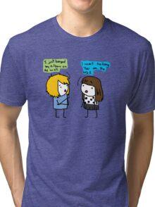 Valuable pick-up lines.  Tri-blend T-Shirt