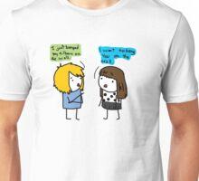 Valuable pick-up lines.  Unisex T-Shirt