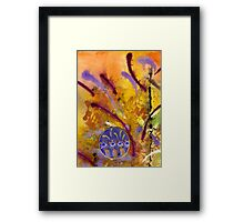 Strokes of LOVE Framed Print