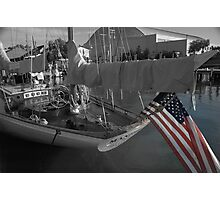 JFK Sailboat in Annapolis Maryland Photographic Print