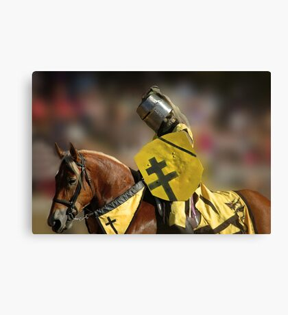 The Jouster Canvas Print