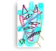 """""""Bamboozlement (Raw)"""" by Richard F. Yates Canvas Print"""