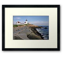 Eastern Point Lighthouse, Massachusetts Framed Print