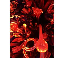 Glass inferno Photographic Print