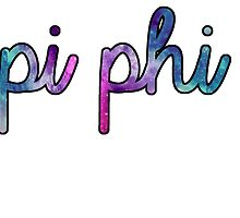 Pi Phi Galaxy by trendysticks