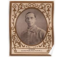 Benjamin K Edwards Collection O'Hara New York Giants baseball card portrait Poster