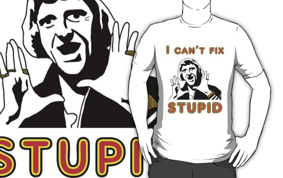 I can't fix stupid by marinasinger