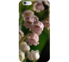 Lily of the Valley - Rosea & White iPhone Case/Skin