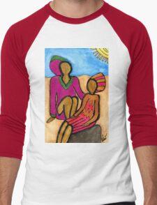 Sun Sistahs T-Shirt Men's Baseball ¾ T-Shirt
