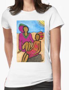 Sun Sistahs T-Shirt Womens Fitted T-Shirt