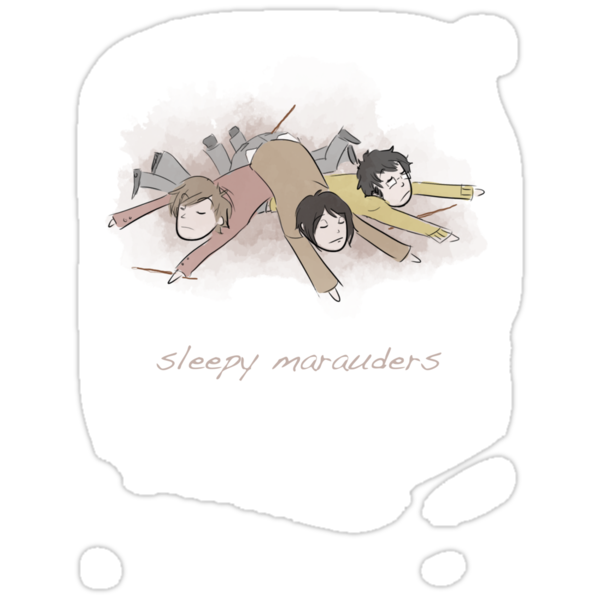 Sleepy Marauders by Kirsten  Stackhouse