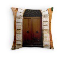 Arch Doorway, Firenze Throw Pillow