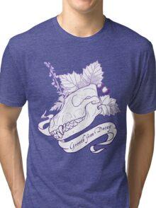 Hollowheart Keep - Gradient Outline Tri-blend T-Shirt