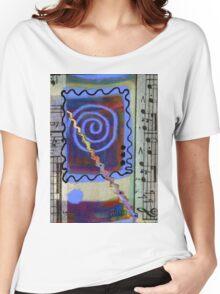 The Spiral Pane T-Shirt Women's Relaxed Fit T-Shirt