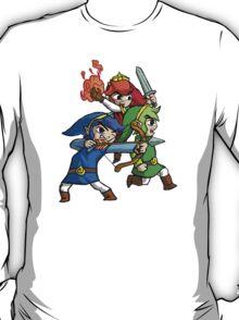 Triforce Heroes Legend of Zelda T-Shirt