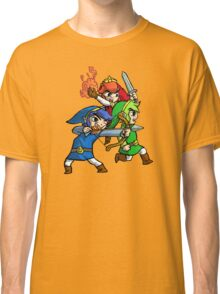 Triforce Heroes Legend of Zelda Classic T-Shirt