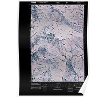USGS Topo Map Washington State WA Timberwolf Mountain 20110506 TM Inverted Poster