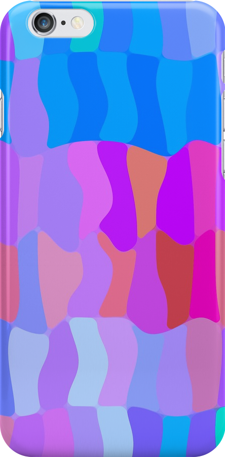 Color Dance iPhone Case by Betty Mackey