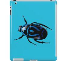 Blue beetle iPad Case/Skin