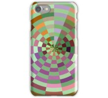 Floating Circles iPhone Case, Green iPhone Case/Skin