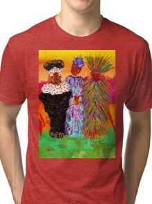 We Women Folks T-Shirt Tri-blend T-Shirt