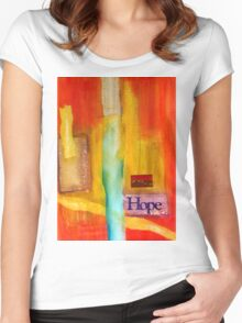 Windows of Hope T-Shirt Women's Fitted Scoop T-Shirt