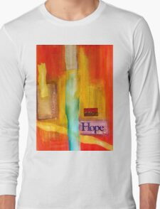 Windows of Hope T-Shirt Long Sleeve T-Shirt