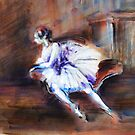 """""""Ballerina"""" by Tatjana Larina"""