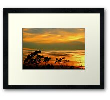 """ Above and Below"" Framed Print"