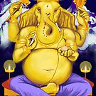Ganesha, Lord of Beginnings by yohanna