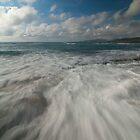 Rushing Waves by jadennyberg