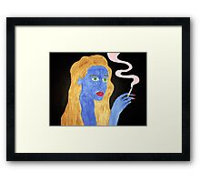 You Left Me With Nothing But Bad Habits Framed Print