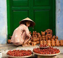 Street Vendor by aussiejase