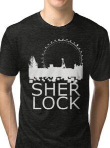 Sherlock Skyline Tri-blend T-Shirt