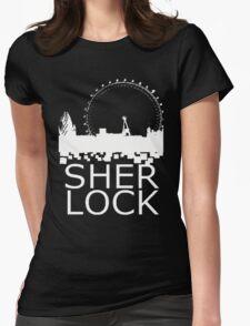 Sherlock Skyline Womens Fitted T-Shirt