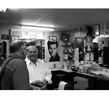 Michel chatting Photographic Print