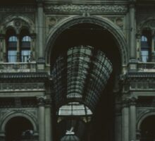 Covered arcade near Duomo Milan Italy 19840704 0004   Sticker